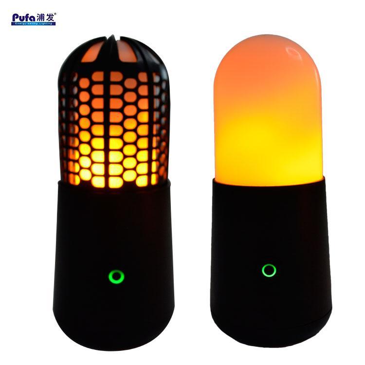 LED便攜火焰燈火把燈KTV酒吧婚慶戶外露營場所 1