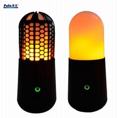 LED便攜火焰燈火把燈KTV酒吧婚慶戶外露營場所