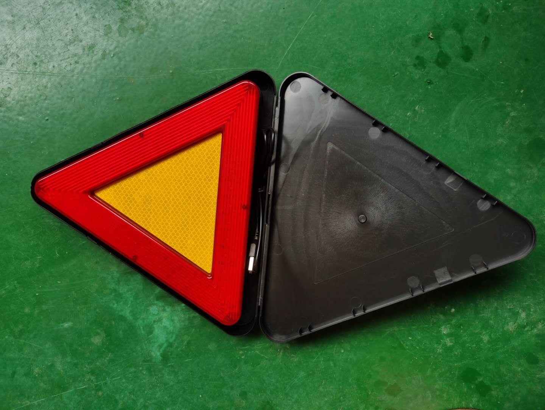 防水LED移动闪烁三角警示牌 5