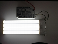 LED Compatible with electronic ballast transverse tube 2G10 15W