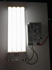 LED 2G10兼容电子镇流器横插灯管18w