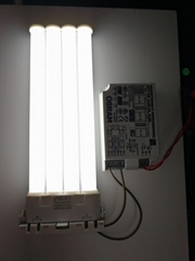 LED Compatible with electronic ballast transverse tube 2G1018W