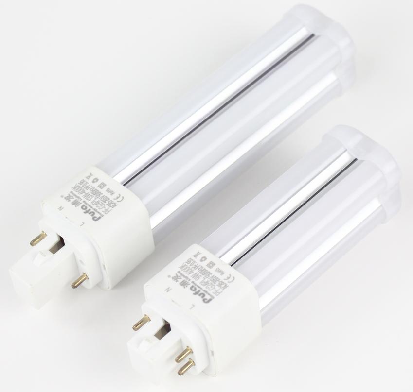 LED G24q 360°橫插燈9W 2