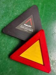 ip65防水型LED三角警示牌闪烁爆闪警告牌