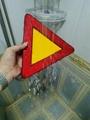ip65防水型LED三角警示牌閃爍爆閃警告牌 4