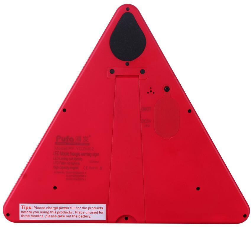 ip65防水型LED三角警示牌閃爍爆閃警告牌 3