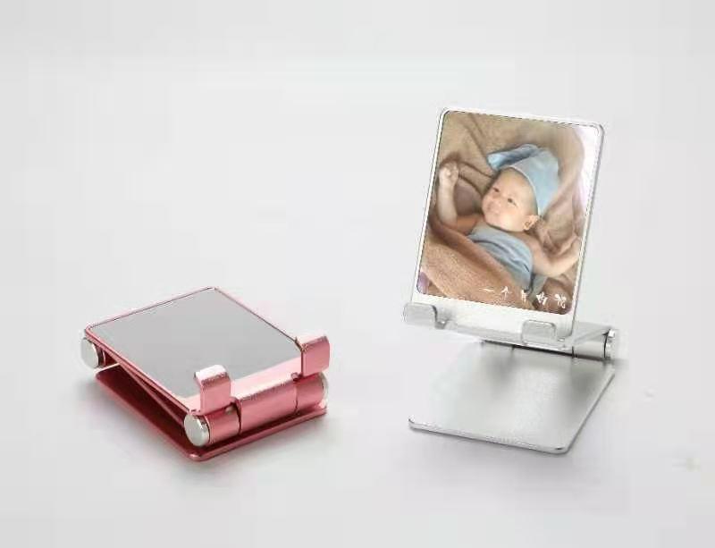 新款1秒桌面折叠铝合金手机平板懒人支架礼品定制支架 1