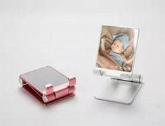 新款1秒桌面折疊鋁合金手機平板懶人支架禮品定製支架