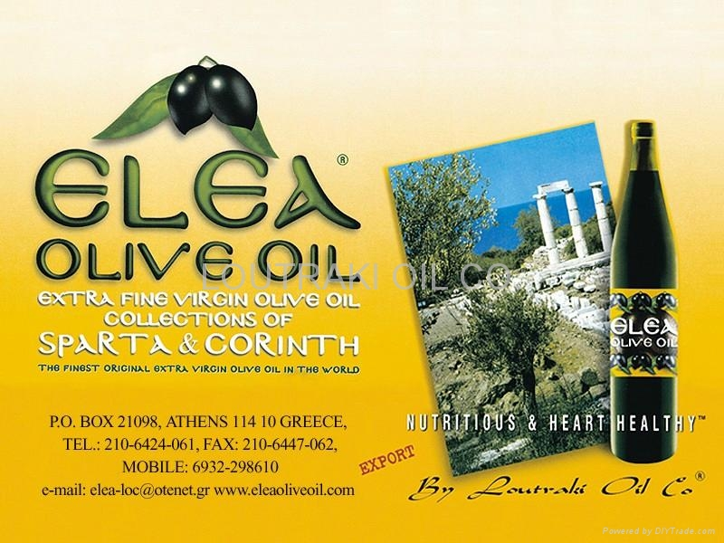 ELEA Greek Organic Extra Virgin Olive Oil 1