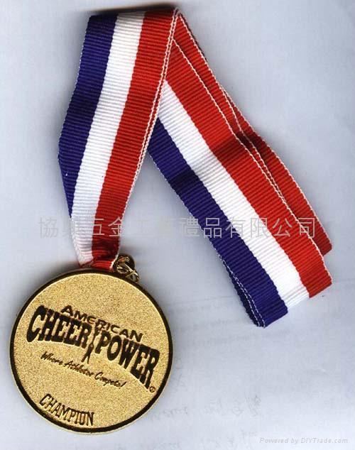 合金鍍金獎牌 1