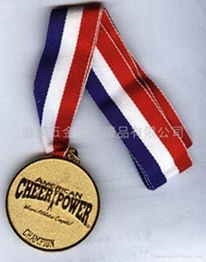 合金鍍金獎牌