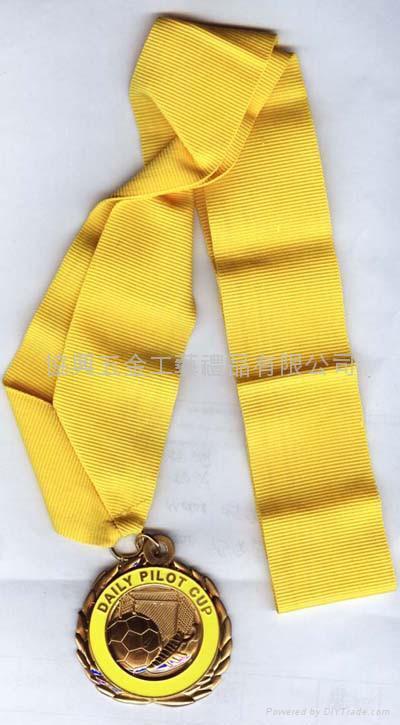 合金鍍金獎牌 2