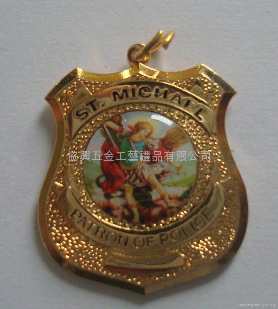 合金鍍金獎牌 4