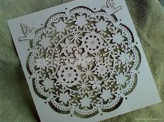纸卡类烧花