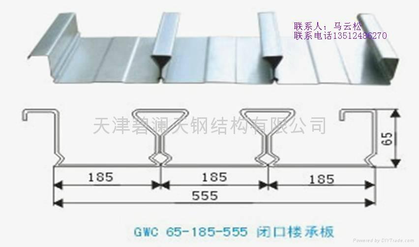 供應閉口樓承板YX65-185-555 1