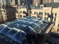 大连设计阳光房  安装阳光房 系统断桥铝门窗