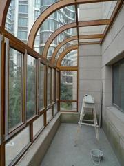大連封閉陽台 陽光房安裝 斷橋鋁門窗生產加工