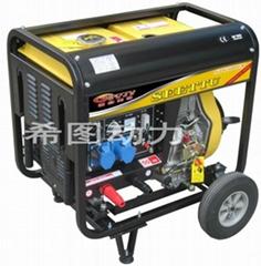 便携柴油发电电焊机190A