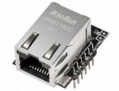 嵌入式TTL串口轉以太網模塊—ZS-Ethernet-801