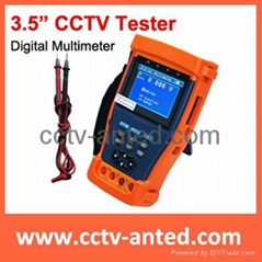 "3.5"" CCTV Teser with Digital Multimeter function"