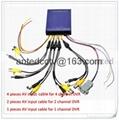 4Ch H.264 Real-time Recording Mobile DVR SD Card USB Back-up CCTV DVR Security  2