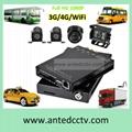 Mobile DVR Car Recorder HD 1080P 1 2 4