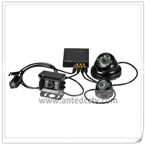 HD 1080P Mobile DVR Camera Systems 4 Channel  Vehicle Video Recorder for Car Bus 2