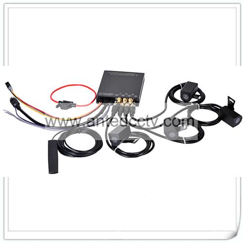 HD 1080P Mobile DVR Camera Systems 4 Channel  Vehicle Video Recorder for Car Bus 5