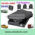 3G 1080p mobile DVR recorder for