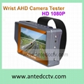 AHD CCTV tester with 4.3 inch TFT LCD monitor, AHD camera security tester tool