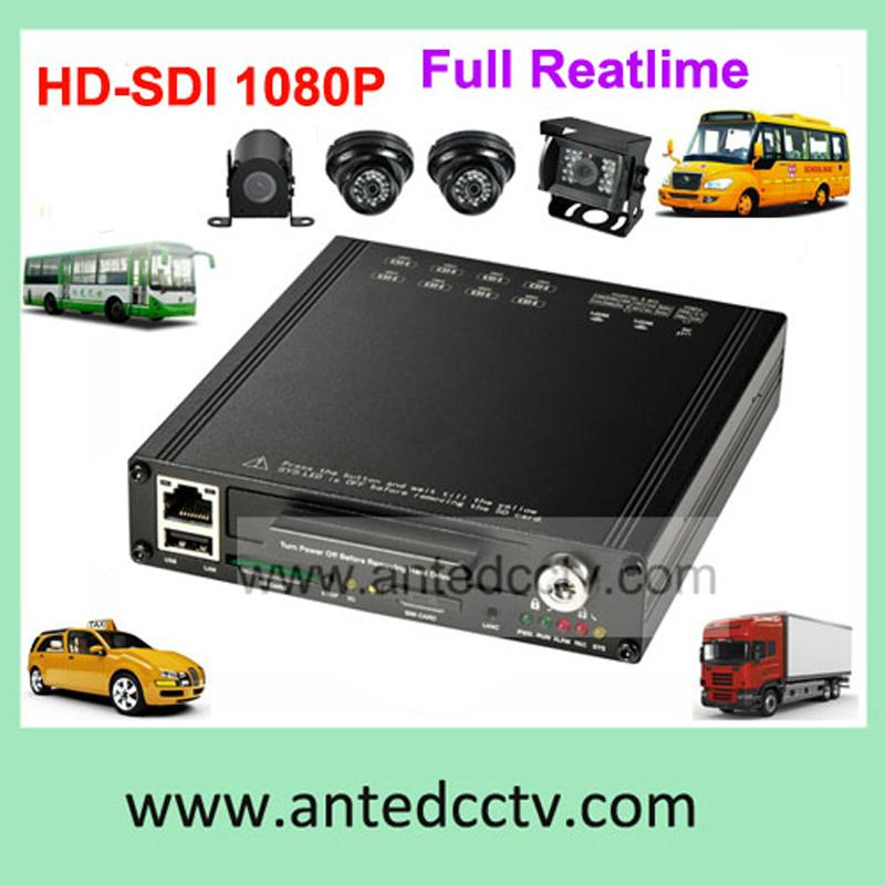 4/8CH Bus/Truck DVR Camera System Support GPS Tracking WiFi 3G 4G -