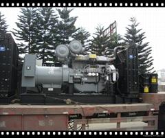 Perkins diesel generators UK made with Stamford alterantor soundproof 50hz/60hz