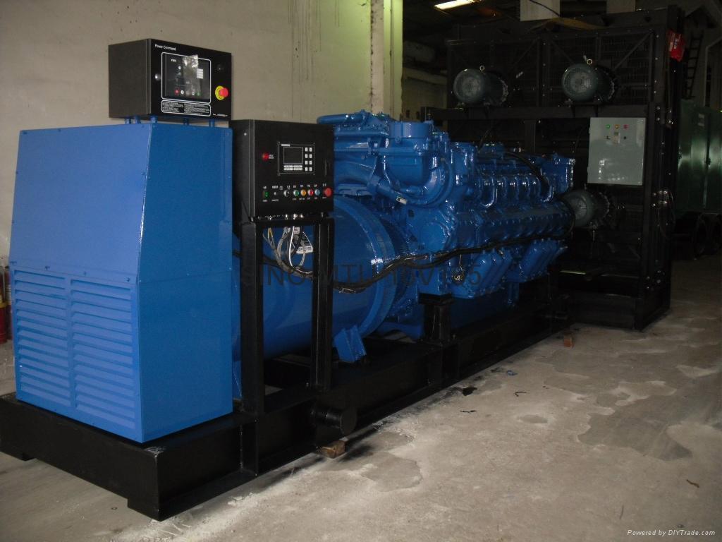 MTU diesel generator 1500kva with Stamford soundproof model  3