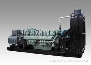 MTU diesel generator 1500kva with Stamford soundproof model  1