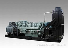 MTU diesel generator 1500kva with Stamford soundproof model