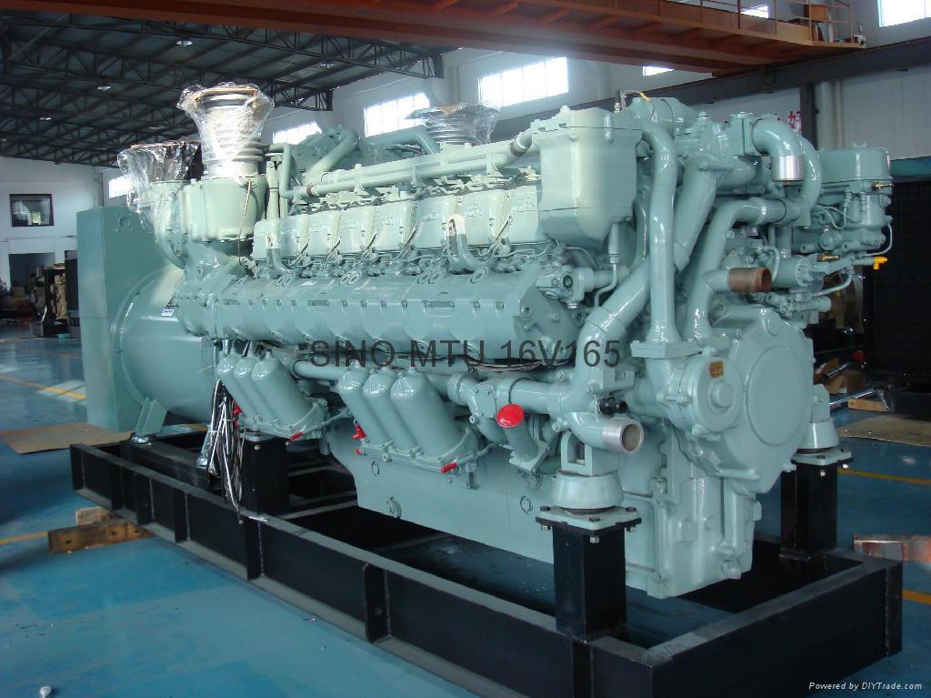 MTU diesel generator 1500kva with Stamford soundproof model  2