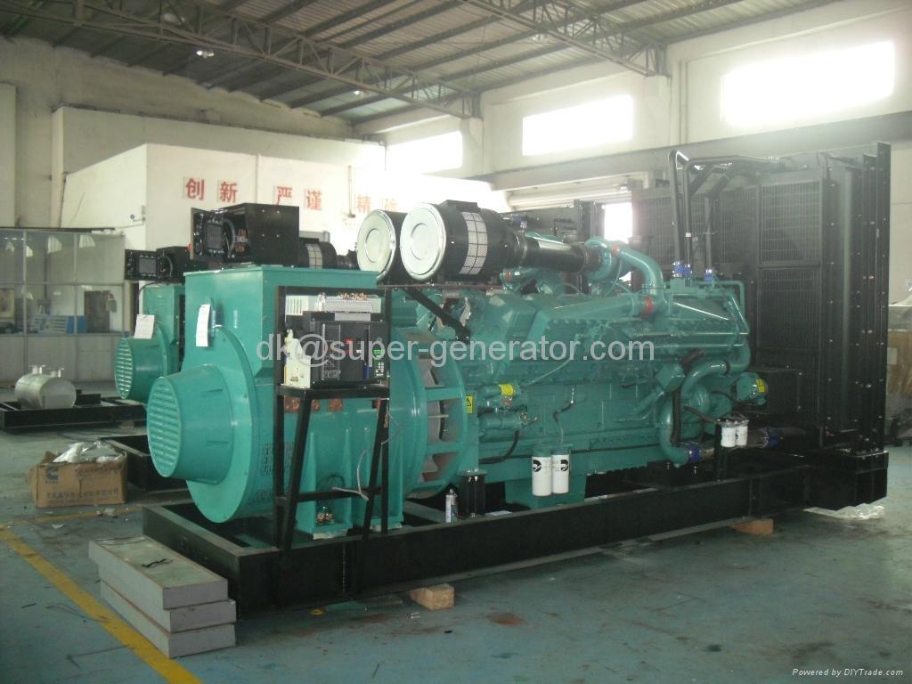 Cummins Diesel Generator 200kw To 1000kw Generator Qsk