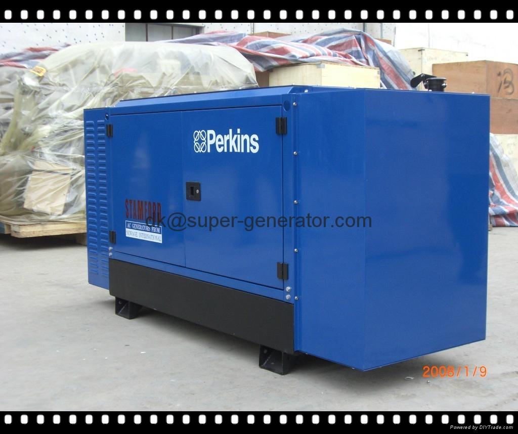 Yangdong Ewin Light Industrial Products Ltd: Diesel Generator Perkins Soundproof Diesel Generator 10kva