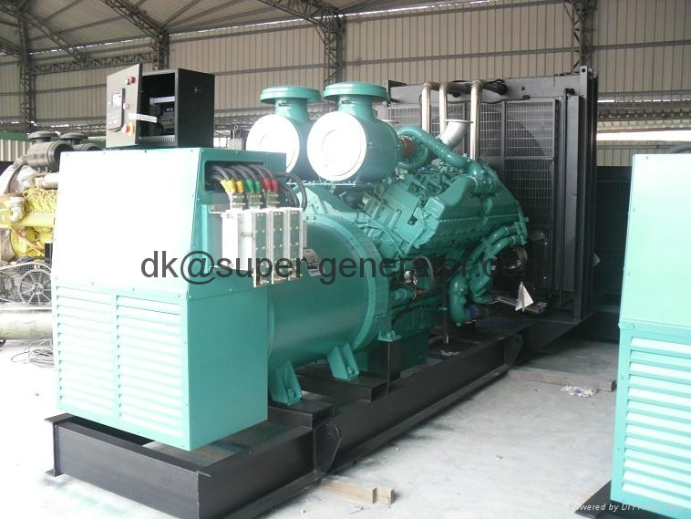 generator Cummins diesel generators KTA50-GS8 1675KVA 1340KW,1400kva ,1125kw 1