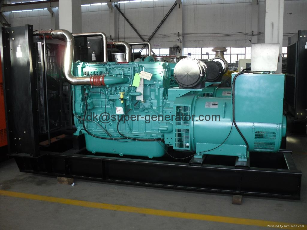 Cummins diesel generators 60hz KTA50-G9 1250KW Open model and soundproof