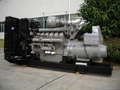 Perkins diesel generator 1600kw 2000kva 4016TAG2A 50HZ/60hz
