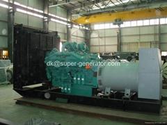Cummins diesel generator 60hz KTA50-G9 1250KW Open model and soundproof