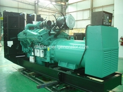 Cummins diesel generator diesel generator 1500kva 1200kw 1650kva,1320kw QSK60-G4