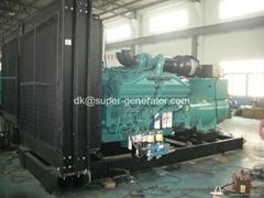 Cummins diesel generators 940kva  diesel generator  KTA38-G5 750kw HCI634H