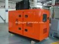 silent Cummins diesel generator 80kw 100kva 88kw 110kva 6BT5.9-G2,soundproof  1