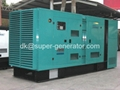 Silent type soundproof Cummins generator KTA38-G5  KTA50-G3 1250kva 1000kw  1
