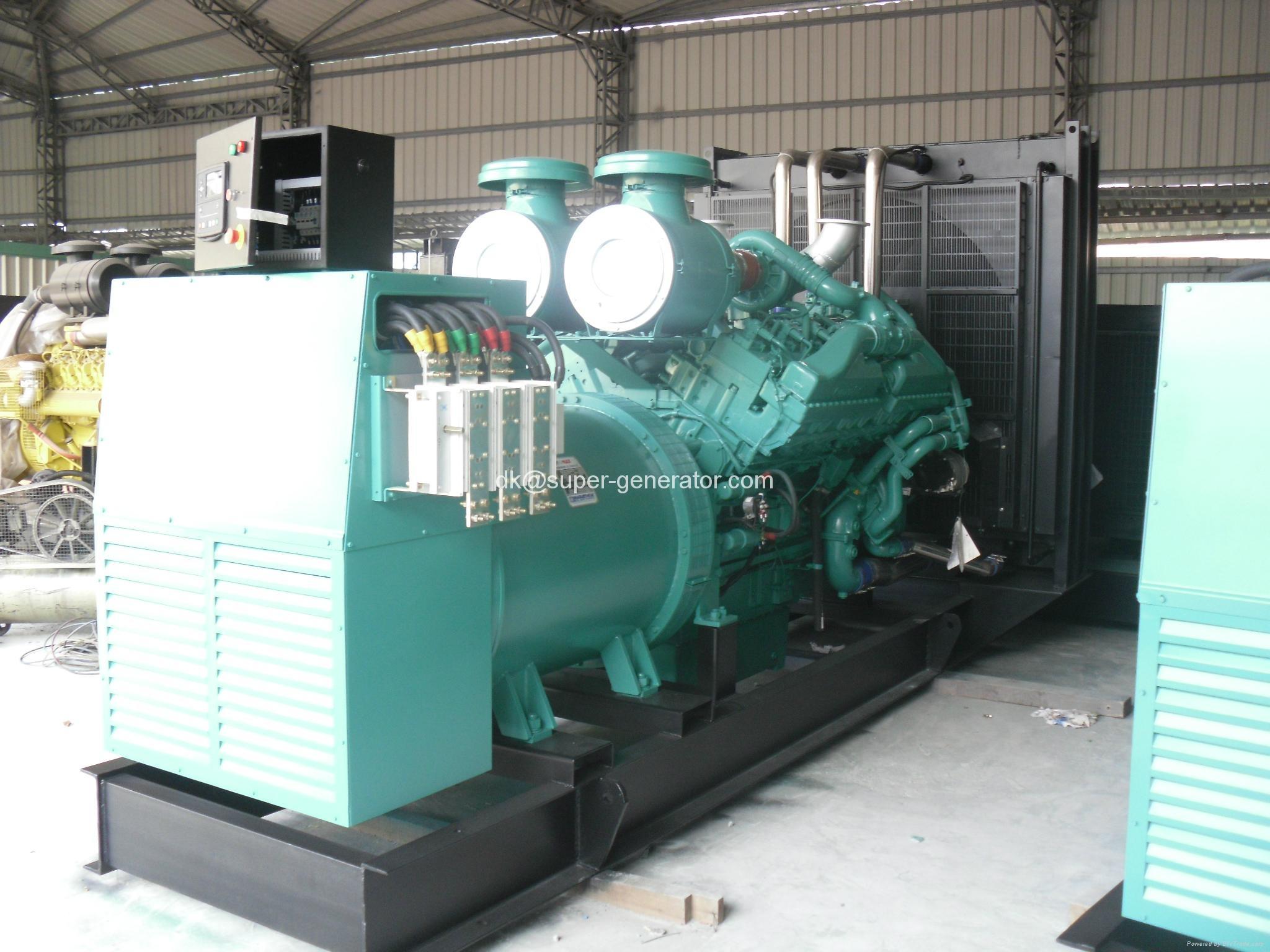 Cummins generator KTA38 G5 sel generators KTA50 G3 1250kva