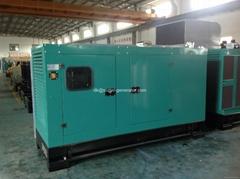 Cummins soundproof diesel generator 80kw 100kva 88kw 110kva 6BT5.9-G2,