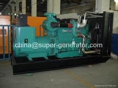 diesel generator 1000kva 800kw  diesel generator 1100kva 880kw  KTA38G5