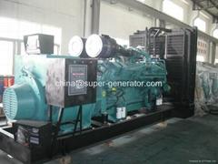 diesel generator 1000kva 800kw  diesel generator 1100kva 880kw  KTA38G5 Cummins